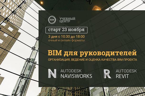 Navisworks. BIM для руководителей