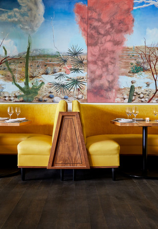 Indoor Dining Room Booths