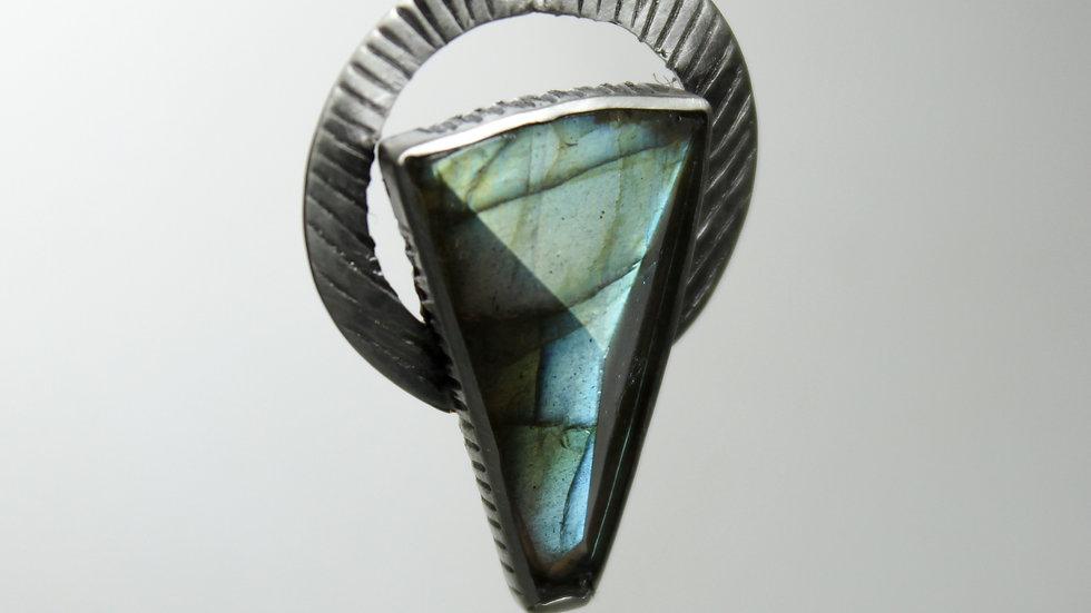 Pendant Labradorite (free facetedstone)