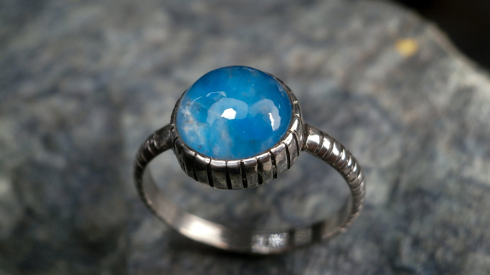 Classic Ring -Apatite - Silver 925°
