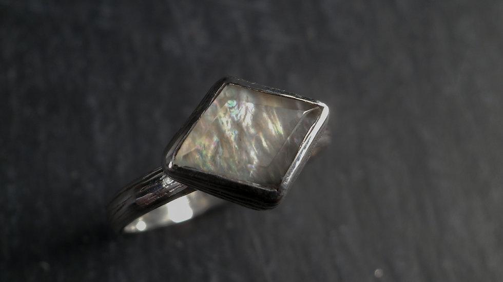 MoonstoneRing - Silver 925°