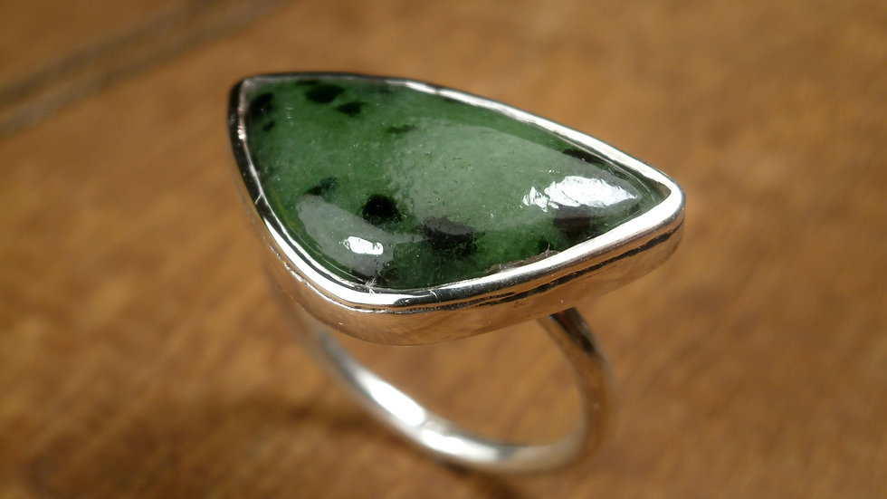 Zoisite - Ring - Silver 925°