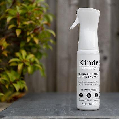 Sanitizer fine mist spray fogging