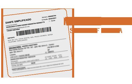 Oláá, queremos te contar uma novidade: Nota fiscal simplificada!