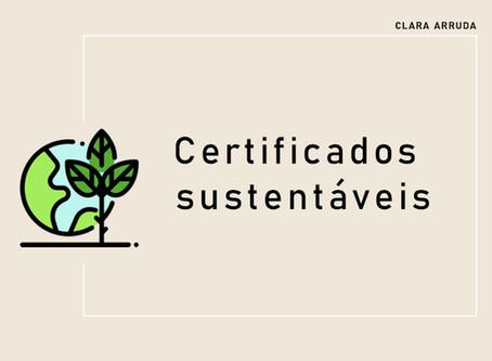 Certificados sustentáveis