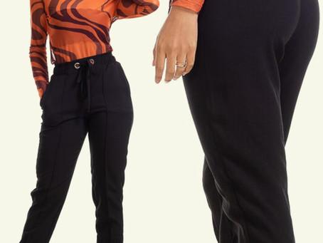 Cansou de montar looks comuns? Que tal apostar na calça jogger?