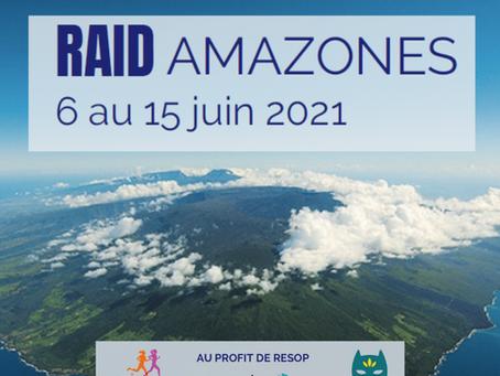 Courir pour Demain, RAID AMAZONES 2021 à la Réunion