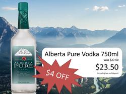Alberta Pure jan 27th