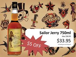Sailor Jerry jan 27th