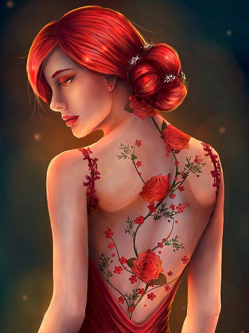 Scarlet Print