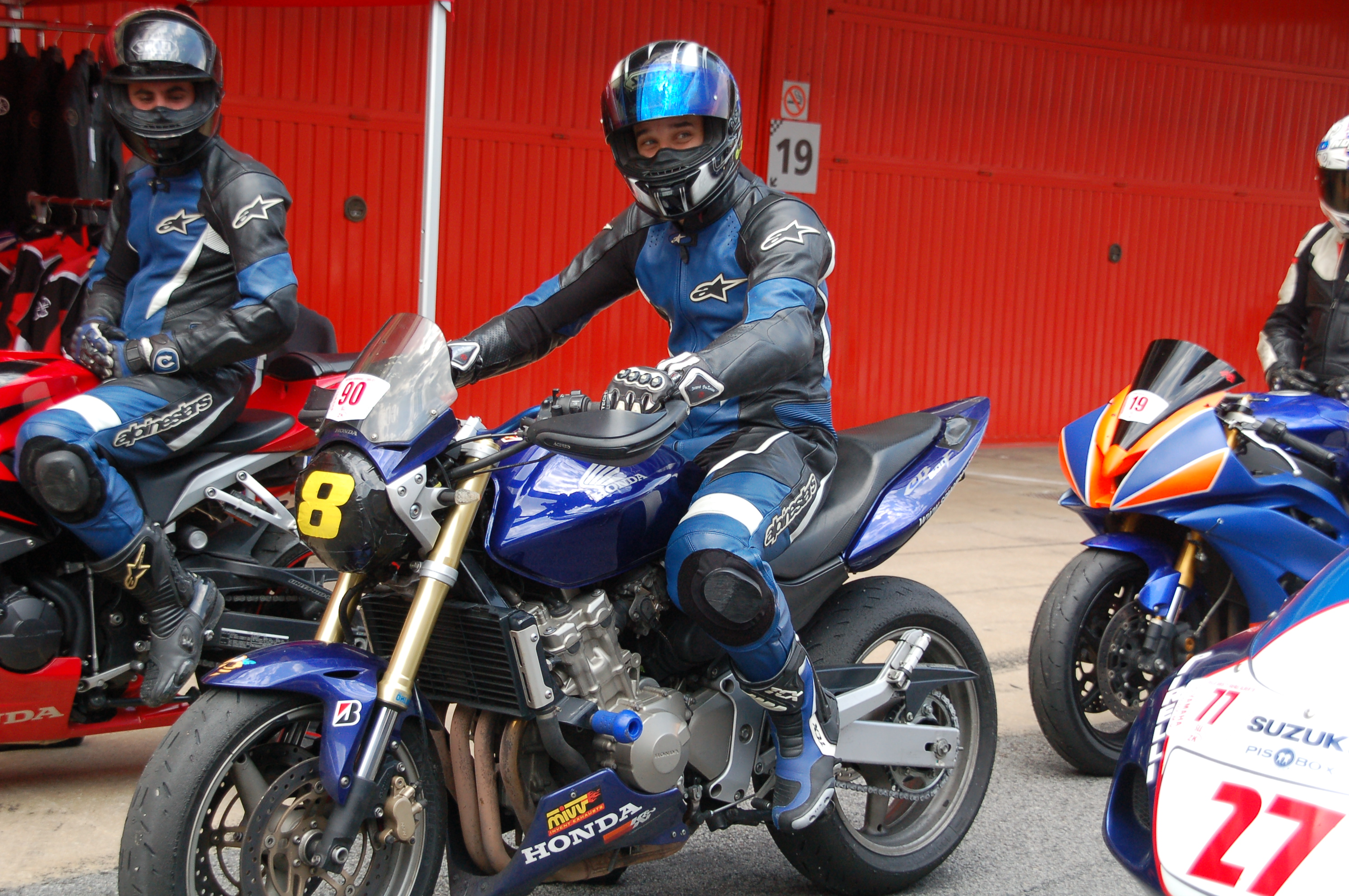Carlos, Hornet 600 2006
