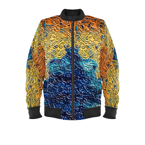 SPIRITUAL GUIDANCE MENS BOMBER JACKET