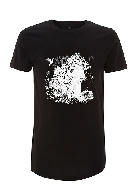 THE DREAMER MENS LONGLINE TSHIRT