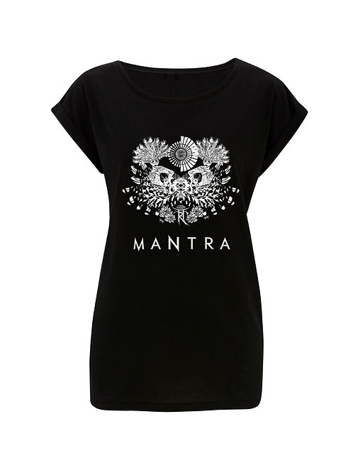 MANTRA LADIES ROLLED SLEEVE TSHIRT