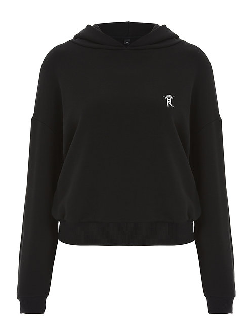 SEE WITHIN LADIES CROPPED PULLOVER HOODIE