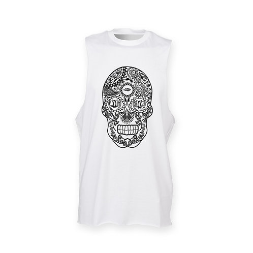 DEPARTED SOUL (SEE WITHIN) MENS WHITE TANK