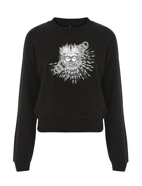 AWAKENING LADIES CROPPED SWEATSHIRT
