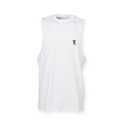 SEE WITHIN MENS WHITE TANK