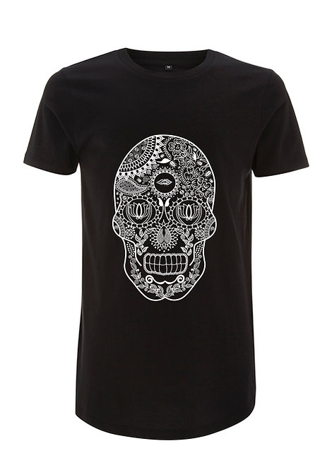 DEPARTED SOUL (SEE WITHIN) MENS LONGLINE TSHIRT