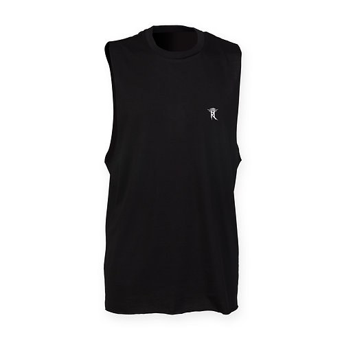 SEE WITHIN MENS BLACK TANK