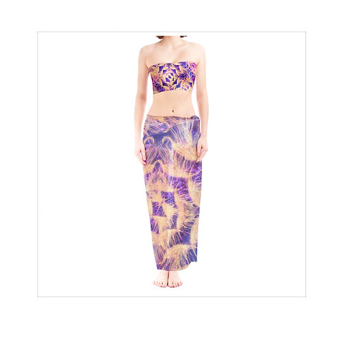 THE WARRIOR CHIFFON SARONG