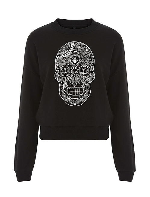 DEPARTED SOUL (IMMORTAL) LADIES CROPPED SWEATSHIRT