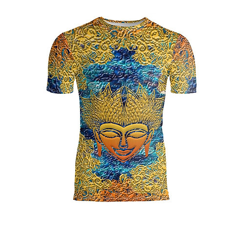 SPIRITUAL GUIDANCE, MENS SLIM FIT TSHIRT