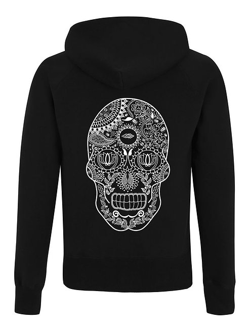 DEPARTED SOUL (SEE WITHIN) UNISEX ZIP HOODIE