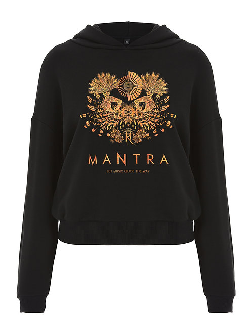 MANTRA LADIES CROPPED PULLOVER HOODIE