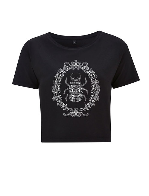 OPULENT BEETLE LADIES CROPPED TSHIRT