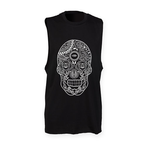 DEPARTED SOUL (SEE WITHIN) MENS BLACK TANK
