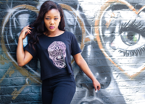 DEPARTED SOUL (IMMORTAL) LADIES CROPPED TSHIRT