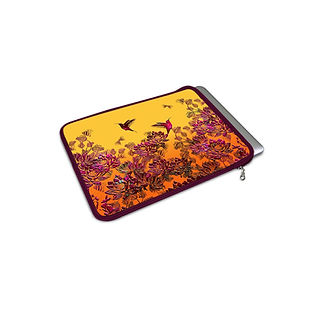 MACBOOK AIR COVER SOULS ENTWINED BY THE HOUSE OF RADHA