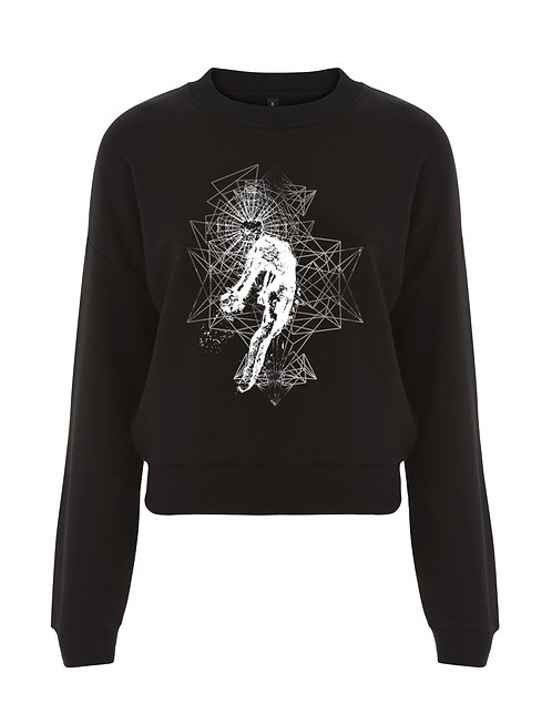 THE RISING LADIES CROPPED SWEATSHIRT