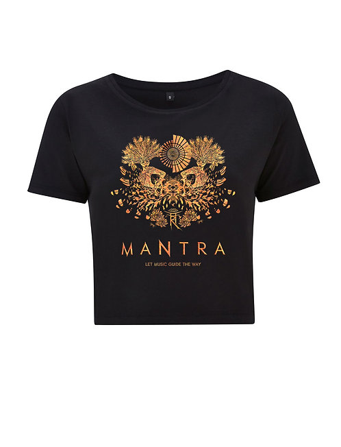 MANTRA LADIES CROPPED TSHIRT