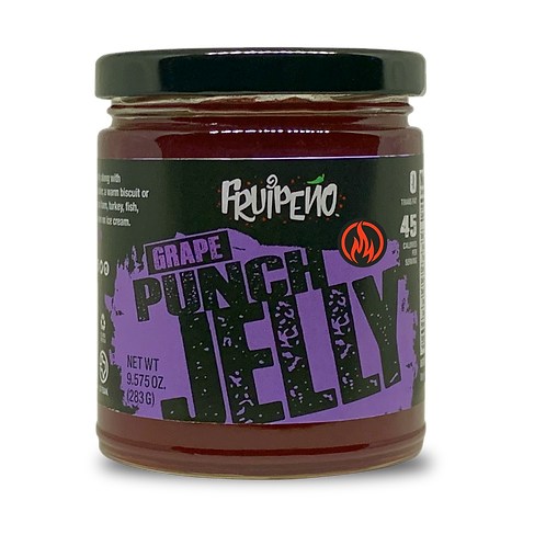 Grape Punch Hot Jelly
