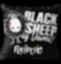 Black Sheep Jams Throw Pillow.png