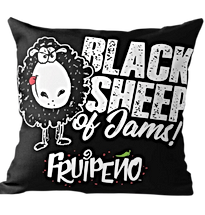 Black Sheep Jams Throw Pillow.png