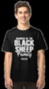 Mens Member Black Sheep Classic Tshirt.p