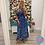 Thumbnail: Fiona Blue Wrap Dress