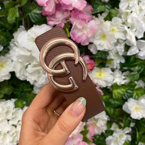 Brown GG Belt