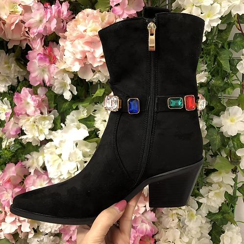 Jewel Cowboy Boot
