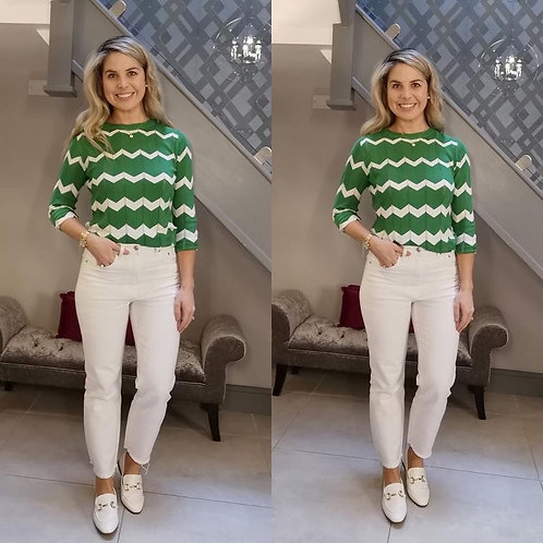 Rita Chevron jumper