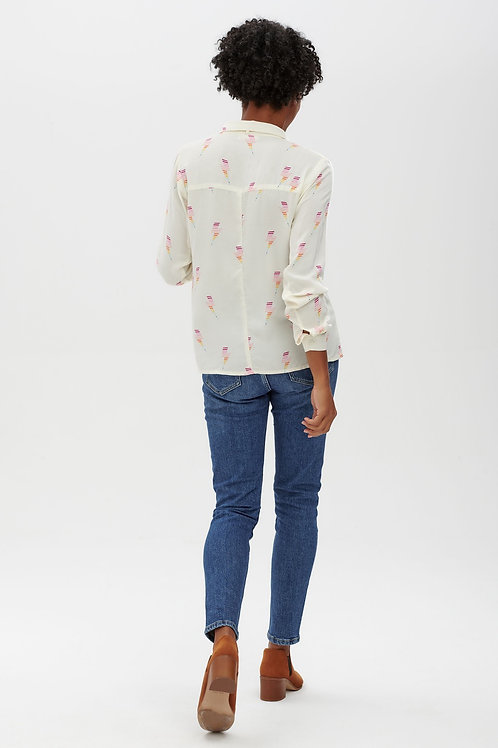 Catrina rainbow lightning shirt