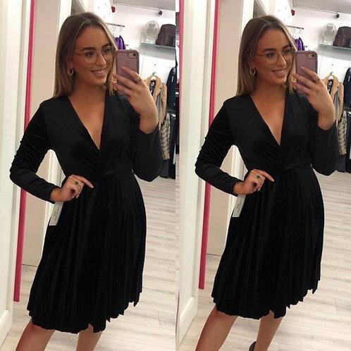 Black Velvet Dress