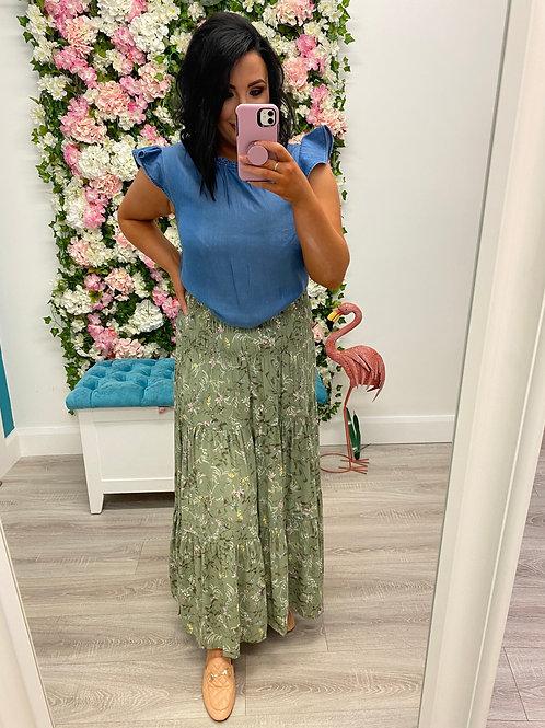 Flaminia Long Skirt