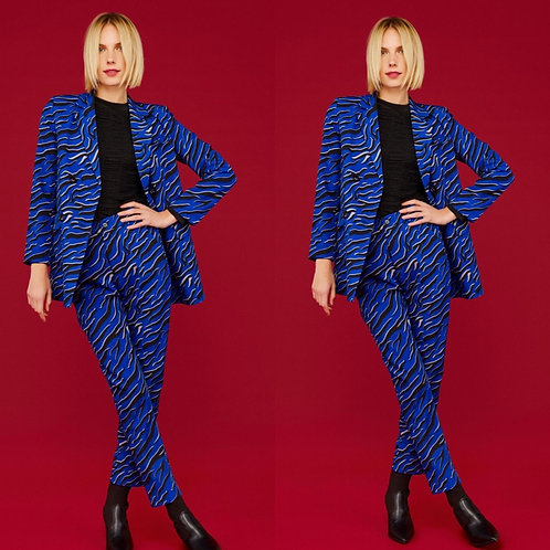 Blue Tiger Trousers