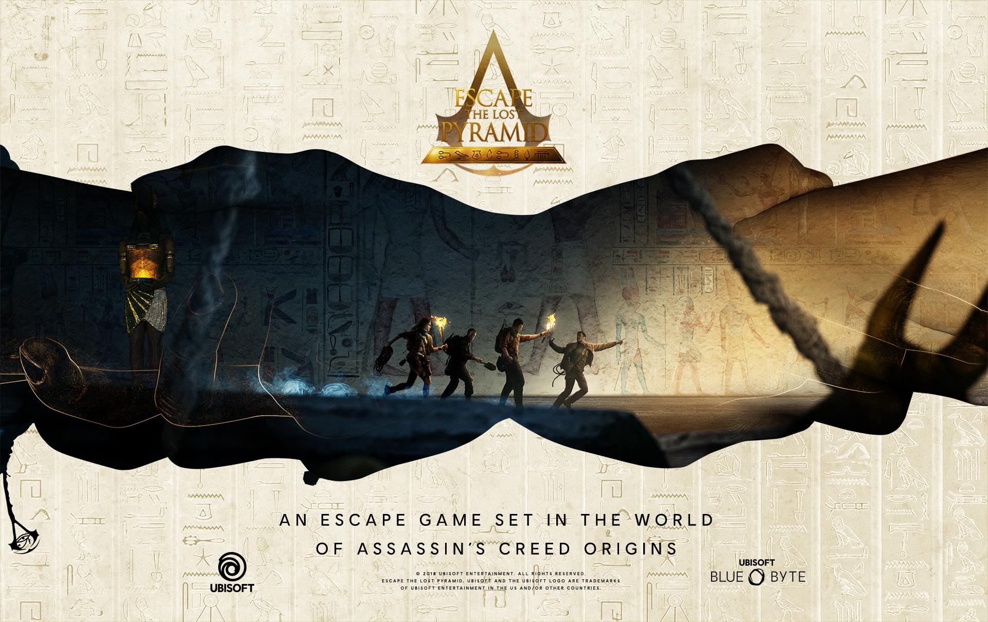 Ubisoft Escape the Lost Pyramid