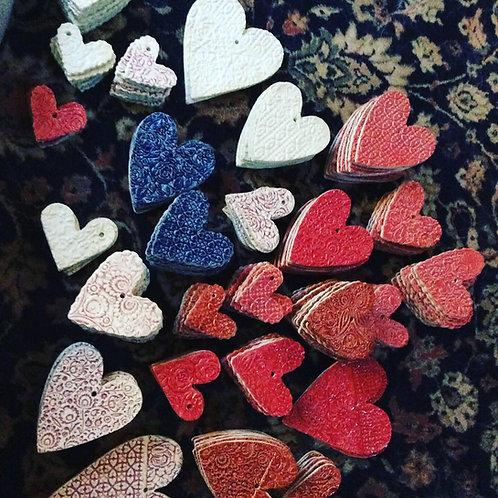 Porcelaine Hearts