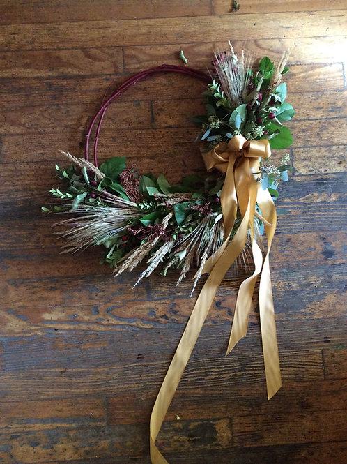 Class- Crescent Wreath